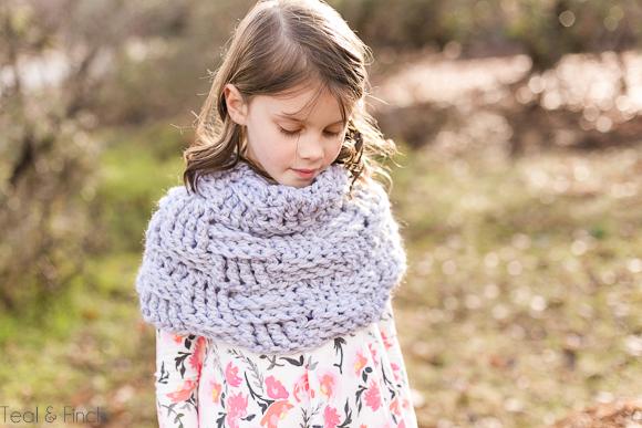 Cowl crochet pattern