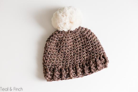 free adult crochet beanie pattern