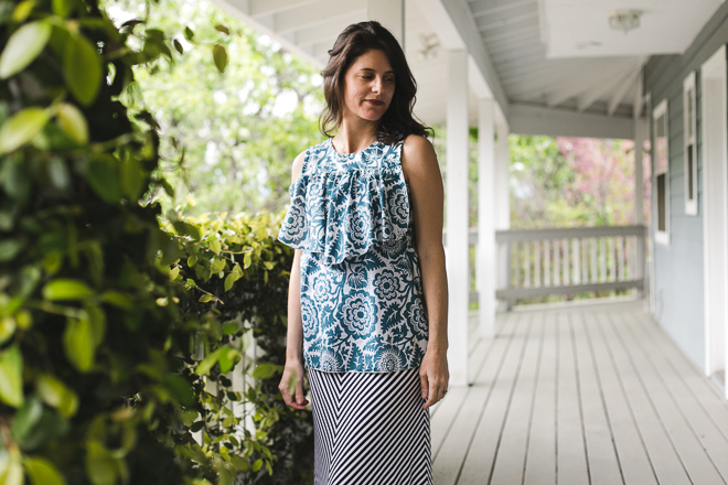 Farrah Blouse by Chalk and Notch