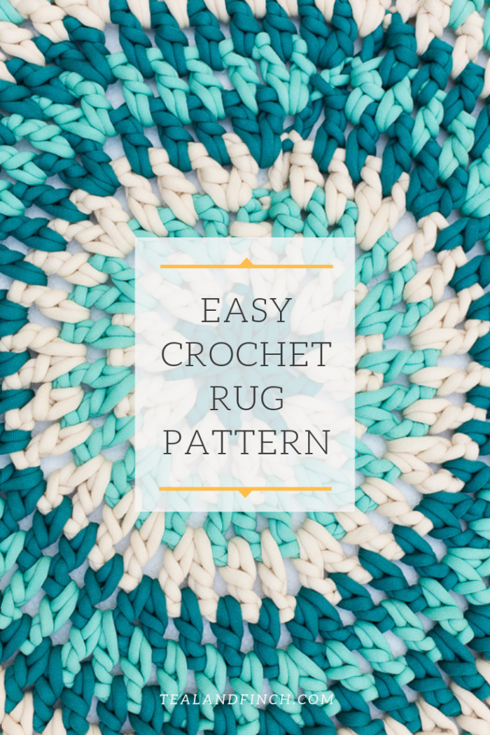 Quick And Easy Crochet Rug Pattern