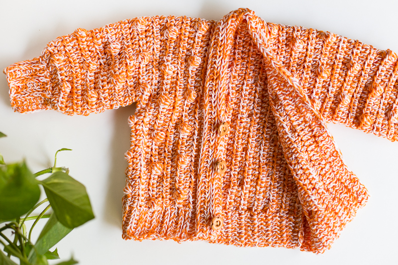 Lynden baby sweater